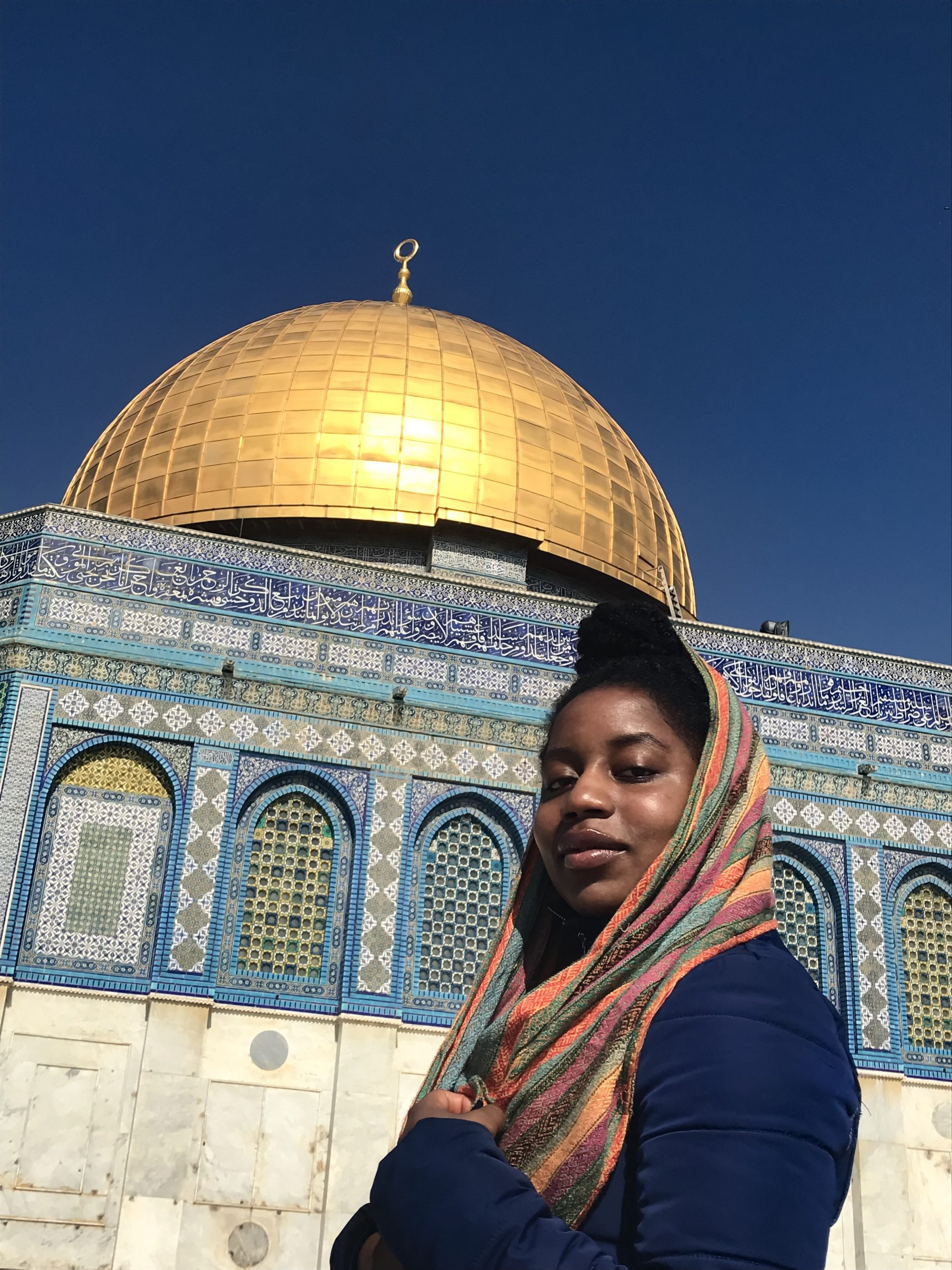 Me at the Dome of the Rock