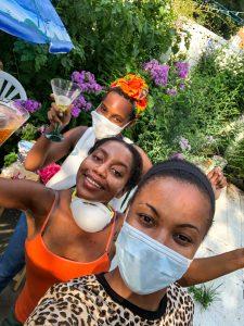 The quarantine birthday celebration